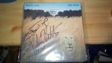 White Lion LP 1989 Big Game SIGNED Vito Bratta and Mike Tramp