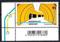3538 postfrisch Eckrand links un. BRD Bund Deutschland Briefmarke Jahrgang 2020