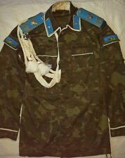 Russian Soviet camouflage jacket coat butane airborne VDV parade demobilisation