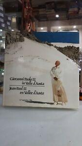 [NC] GIOVANNI PAOLO II IN VALLE D'AOSTA 6-7 SEPTEMBRE 1986IMPRIMERIE VALDOTAIN