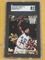 1993-94 Stadium Club #358 Shaquille O'Neal SGC 8 Newly Graded 2nd Year RARE!