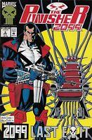 Punisher 2099 Comic Issue 3 Modern Age First Print 1993 Pat Mills Skinner Morgan
