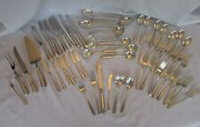 Towle CANDLELIGHT 55 Sterling Silver Flatware SET 8 Settings plus Serving Pieces