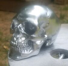 Chrome Hood Ornament Skull Semi/Big Trucks Rat Rods Anything! Other colors avail