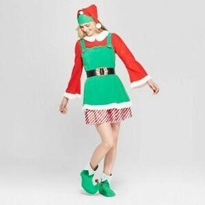 Women's Dress-up Holiday Elf Costume Medium - Wondershop