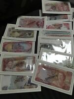 Rare Franklin Mint Specimen Banknotes From Around the World Vintage Presedentla