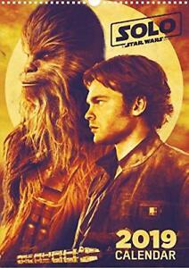 Star Wars Han Solo Calendrier De Mur 2019 CAL19-STAR Grupo Erik