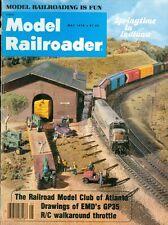 1978 Model Railroader Magazine: Railroad Model Club of Atlanta/Drawings of GP35