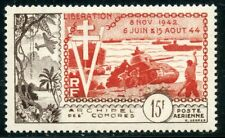 TIMBRE COLONIES FRANCAISES / COMORES PA N° 4 * LA LIBERATION COTE 40 €
