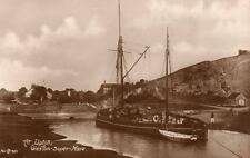 Uphill Weston Super mare Fishing Boat Jane Ketch RP old pc used 1923 P Series