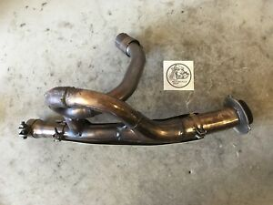 2007 HYOSUNG GT650R MUFFLER PIPE EXHAUST CONNECTOR