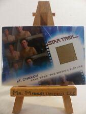 the Complete Star Trek Movies costume relic card MC4 Lt. Chekov 186/701