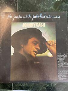 "Johnny Cash signed album ""The Junkie…"" (Promo Copy) musician"