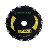 """Forester Chainsaw Tooth 7"""" Brush Blade"""