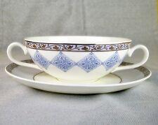 Suppentasse mit Untertasse Azurea  Villeroy & Boch Porzellan unbenutzt