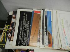 Huge Collection Original Movie Posters from 80's & 90's Folded New Mint U-Pick