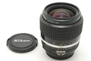 【MINT】Nikon Nikkor Ai-s Ais 35mm f/1.4 MF Wide Angle Lens From JAPAN
