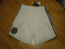 PHILADELPHIA UNION THIRD SHORTS 3RD NWT WHITE ADIDAS LARGE