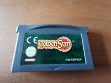 Authentic Golden Sun GameBoy Advance game. Cartdrige only. Tried & Tetsed
