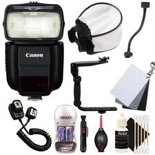 Canon Speedlite 430EX III-RT Flash with Accessory Bundle for Canon DSLR Cameras