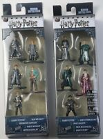 2 Pack Nano Metalfigs Harry Potter Harry Ron Hermione Albus Draco Weasley Marcus