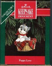 Hallmark 1992 Puppy Love 2nd in Series Terrier Schnauzer Mint in Original Box