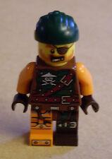 Lego Ninja Ninjago - Bucko - Pirat Figur ( Buko orange grün braun Pirate ) Neu