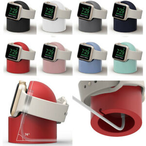 Silicone Charging Dock For Apple Watch Series 4321 Iwatch Charger Holder Station