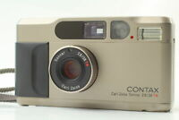 [As-Is]  Contax T2 35mm Point & Shoot Carl Zeiss 38mm f2.8 T* From JAPAN