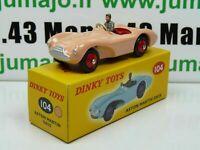 DT11E Voiture réédition DINKY TOYS atlas : 104 Aston Martin DB3S UK