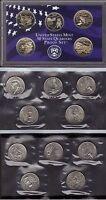 2002-P, D & S CLAD STATE QUARTER PROOF AND MINT SET SET ( 15 COINS )