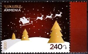 ARMENIA 2020-26 Religion Celebrations: Christmas and New Year, MNH