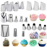 Flower Icing Piping Nozzles Pastry Tips Cake Sugarcraft Decorating Baking Tools