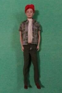 Vintage Ken Doll - Vintage Blonde Flocked Hair Ken Doll