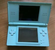Nintendo DS Lite Ice Blue Handheld System with USB Charger, 2x Stylus + Case