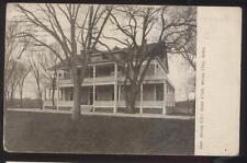 Postcard SIOUX CITY Iowa/IA  Local Area Boat Club House 1907
