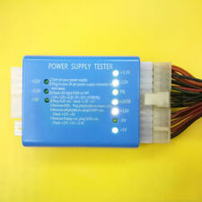 PC Computer 20/24 Pin PSU ATX SATA HD Power Supply Tester High Quality Efficient