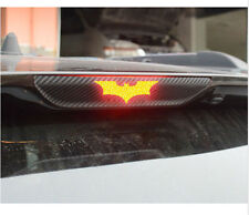 Hi-Q 3D Batman Carbon Fiber Brake Tail Light Vinyl Sticker Car Decal Dark Knight