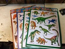 Learning Chart 3d Pop up Smart Kids Dogs Seaworld Dinosaurs Animals Lot 4 0730
