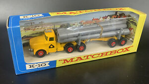 Lesney MATCHBOX King-Size 'SCAMMELL PIPE TRUCK'---K10---see photos