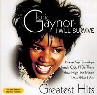 CD NEU/OVP - Gloria Gaynor - I Will Survice - Greatest Hits
