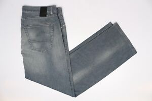 "Hugo Boss Texas 5 Pocket Jeans Blue Denim 36x31 (37"") Medium Wash Fade Classic"