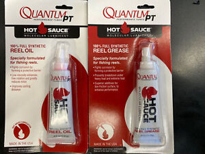 Quantum Hot Sauce fully synthetic Fishing reel grease & oil molecular lubricant
