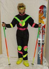 CHAMPION NEON Retro Vintage STYLE 80's 90's Ski Suit STAG Neon Apres SUIT2