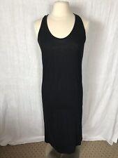 EUC Athleta Pure Beach Swim Dress Cover Up Dress Organic Cotton M Medium 438716