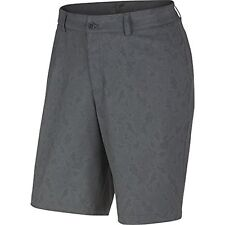 08d3b586d Nike Dri-fit Print Dark Grey/dark Grey/wolf Grey Golf Shorts 32w