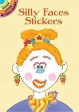 Dover Little Activity Books Stickers: Silly Faces Stickers by Cathy Beylon (2002, Paperback)
