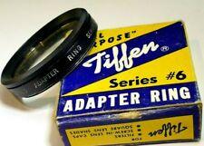 Tiffen 43.5mm to Series 6 VI Lens adapter ring Holder retaining ring + UV filter