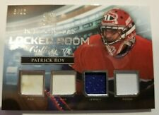 2016-17 ITG Used Locker Room Collection Materials Patrick Roy 6/12
