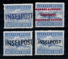NK40) 1944 Inselpost 4x opdrukken  fake/maakwerk